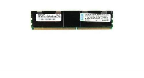 Memoria 1gb 2rx8 Pc2-5300f-555-11 Fru Pn 39m5784 39m5785