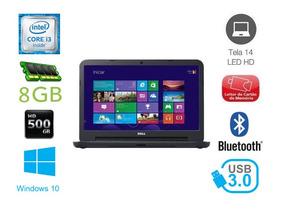 Notebook Dell Latitude 3440 I3 8gb 500gb 14 Pol (mostruario)