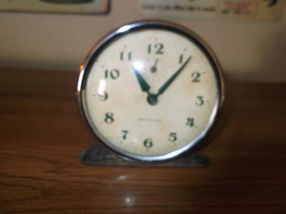 Antiguo Reloj Westclox Con Alarma