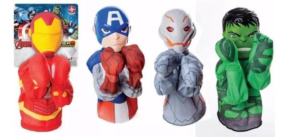 Hero Fighter , Personajes De Avengers Boxeadores Tipo Titere