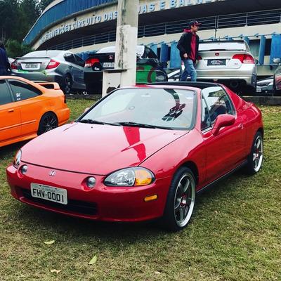 Honda Civic Crx Del Sol Impecavel Mais Novo Do Brasil