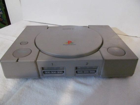 Playstation One Fat Scph-7501 Arte Som