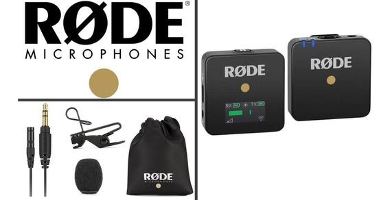 Rode Wireless Go + Lavalier Go Original Com Garantia