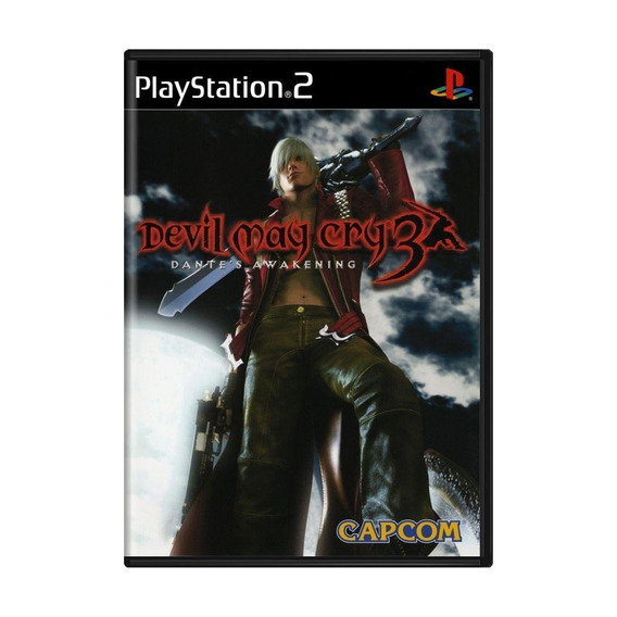Devil May Cry 3 Dantes Awakening Ps2 Mídia Física