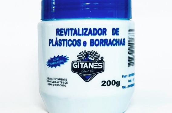 05 Un. Revitalizador Plastico E Borracha Gitanes 200 Gramas