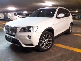 Bmw X3 Drive 2.8 Lujo Top Line Mod. 2013 Blanco