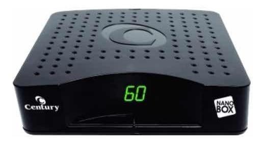 Receptor Century Nano Box Antena Parabolica Novo Garantia