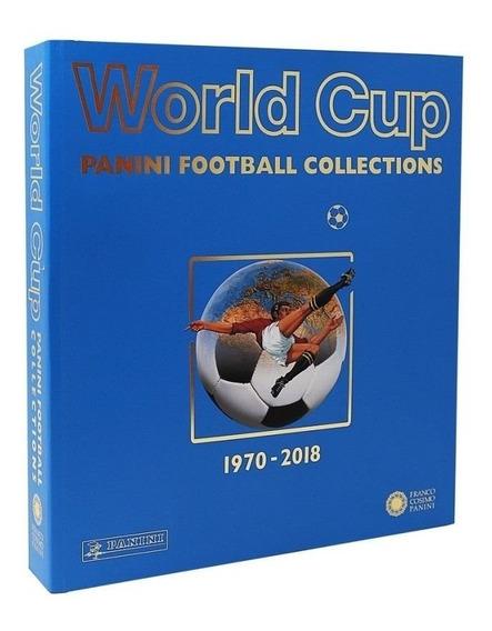 Coleção De Luxo Panini Todos Albuns Copa Do Mundo 1970-2018
