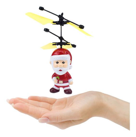 Juguete De Santa Sensor Movimiento Ornamento Navidad Papá N