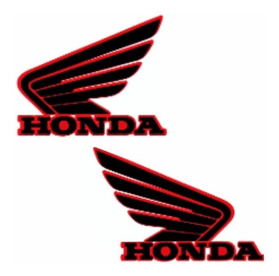 Par Adesivo Tanque Quadriciclo Honda Fourtrax 420 2014 Acima