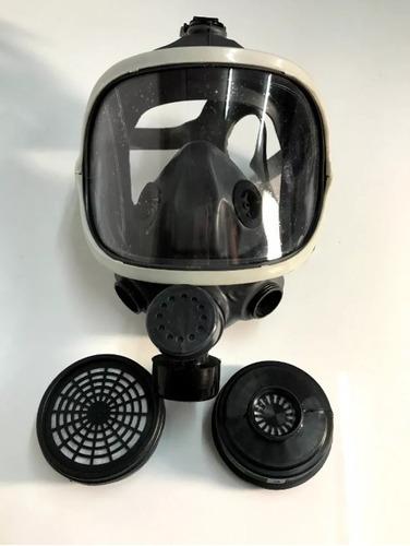 Imagen 1 de 2 de Mascara Panorámica Bifiltro + 2 Cartuchos Para Agroquímicos