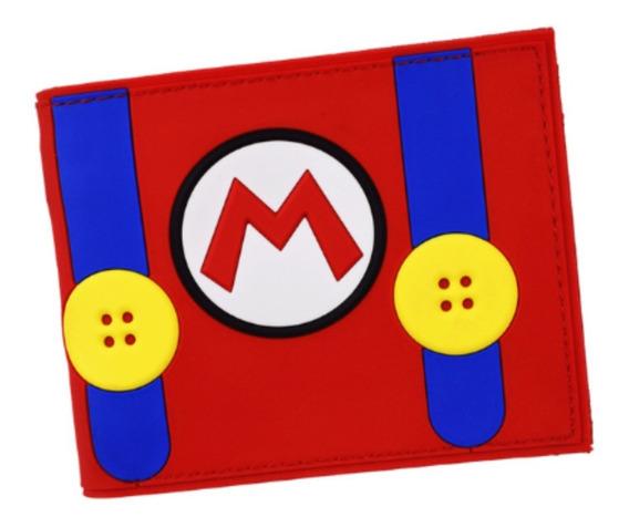 Cartera Mario Bross Nintendo Gamer Billetera Super Mario E.g