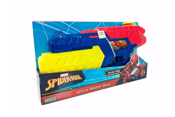 Spiderman Pistola De Agua Ultra Water Gun Ditoys
