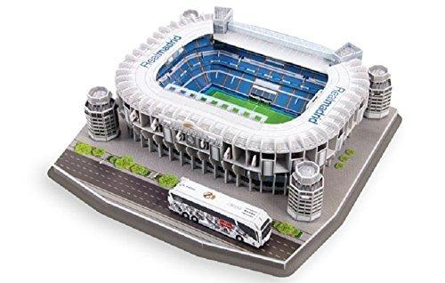 Maqueta Estadio 3d Para Armar Con Luces! Real Madrid Bernabe