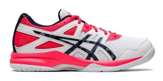 Zapatillas Mujer Asics Gel Task 2 Blanco/rosa - Volley