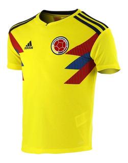 Camisa adidas Oficial Colômbia 1 Infantil 2018