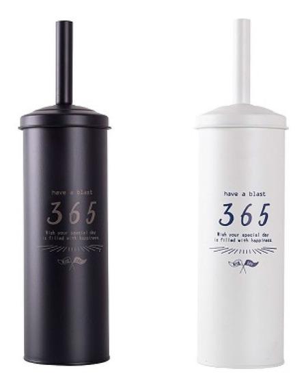 Escobilla De Baño Inodoro 365 Con Vaso Acero Vintage Pc