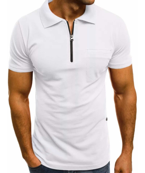 Playera Polo Manga Corta Slim Fit Moda Casual De Calidad