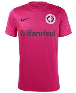 Camisa Nike Internacional Masculina Outubro Rosa Original