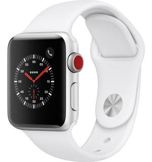 Apple Watch Serie 3 38mm Mtgg2ll Silver Gps + Cel - Sellado