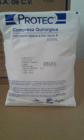 0131000 Paq. Compresa Quirúrgica Para Vientre De 24x20