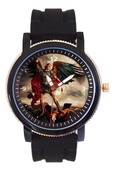 São Miguel Arcanjo Relógio Personalizado 5036