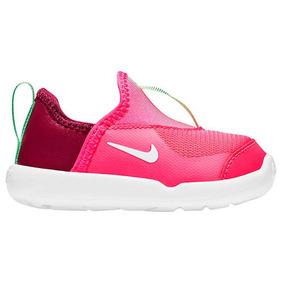 Tenis Casual Nike Swoosh Niñas Textil Fucsia Vino 01988 Dtt