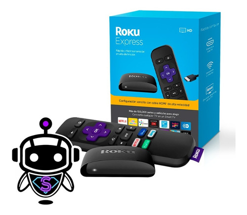 Roku Express 3930r Convierte Tv Smart = Google Chromecast !!