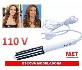 Kit Escova Modeladora Pronto Faet 127v + 8 Pentes