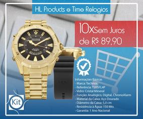 Relógio Technos Skydiver 15atm 50mm T205fl4p