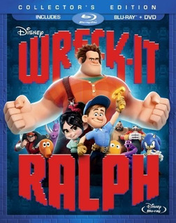 Wreck It Ralph Blu-ray Au Import