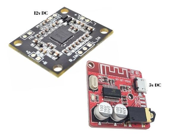 Kit Amplificador Com Bluetooth Para Montagem De Som 30wrms
