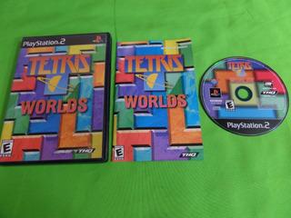 Tetris Worlds Original Ps2 Completo