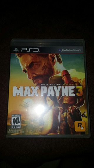 Jogo De Ps3 - Max Payne 3