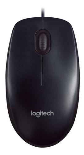 Imagem 1 de 3 de Mouse Logitech  M90 preto
