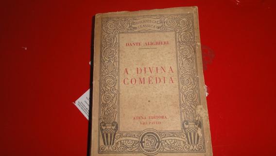Livro: A Divina Comédia - Dante Alighieri - 1951
