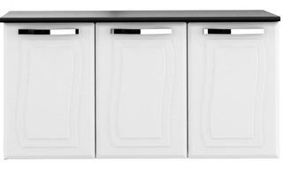 Balcão De Cozinha, 3 Portas, Aço, Com Tampo, Colormaq - Paraty