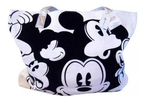 Bolsa Mickey Disney 100% Original E Importada Branca