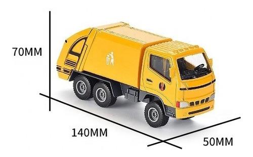 Camion Metalico Recolector De Basura De Juguete Para Niños