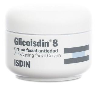 Isdin Glicoisdin 8 Crema Facial Antiedad Ácido Glicólico Antiarrugas Líneas De Expresión