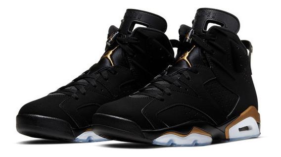 Tênis Jordan 6 Black/metallic Gold