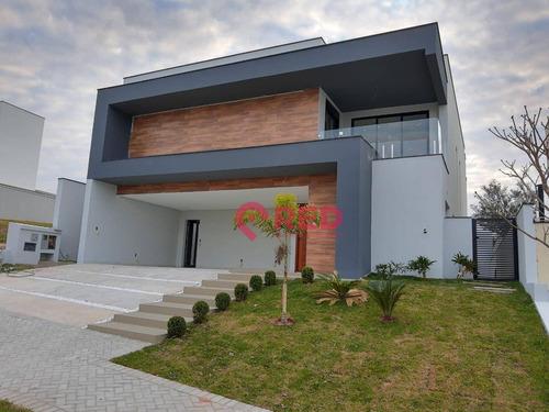 Sobrado Com 4 Dormitórios À Venda, 349 M² Por R$ 2.280.000,00 - Alphaville Nova Esplanada I - Votorantim/sp - So0317