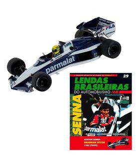 Miniatura Fórmula 1 F1 Senna Brabham Teste Ayrton Senna 1983