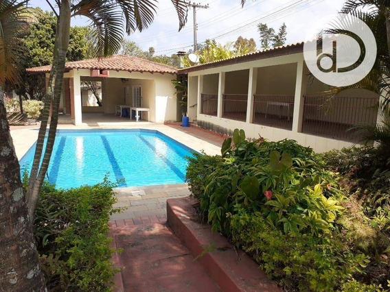 Chácara Com 3 Dormitórios À Venda, 2800 M² Por R$ 750.000 - Pinheirinho - Vinhedo/sp - Ch0171