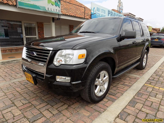 Ford Explorer Xlt Serie 2 4.6cc 4x4 At Aa 7p