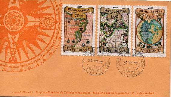 Fdc 1972 - Exfilbra 72 Exposição Internacional - Selos #042