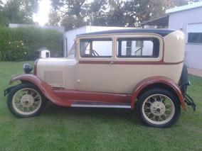 Ford A Del 1930 Sedan 2 Puertas
