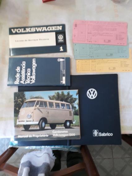 Manual Kombi Antiga Completo 1972 Raro Em Ótimo Estado