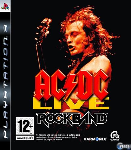 Rock Band Ac/dc Ps3 Nuevo Sellado