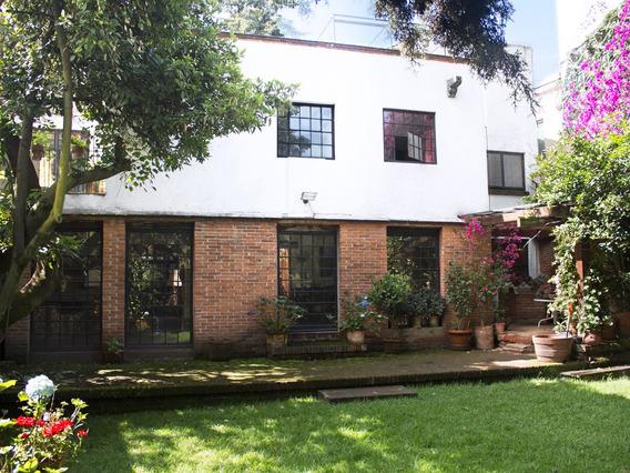 Hermosa Casa Sola Con Jardín En San Jerónimo Lídice 450m